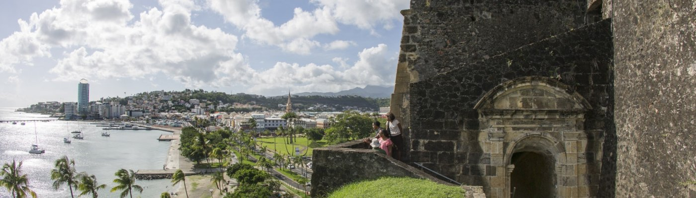 Le Fort Saint-Louis - Carte Martinique Guadeloupe | Guide touristique, cartes, code promo de la Martinique et Guadeloupe | Le Fort Saint-Louis